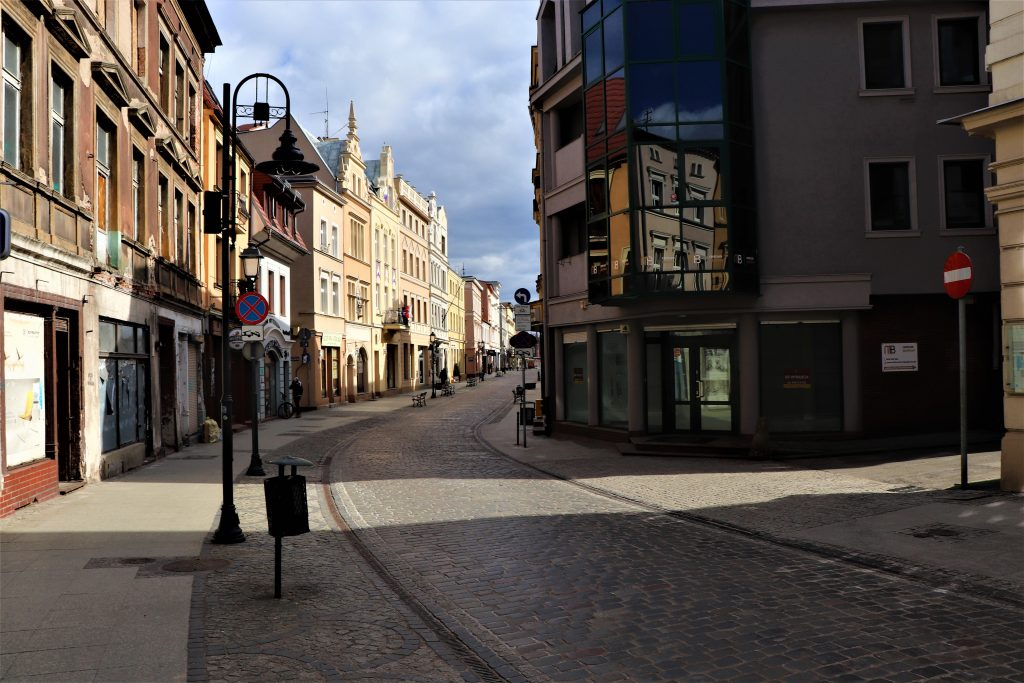 Bydgoszcz curing COVID-2019 pandemic lockdown