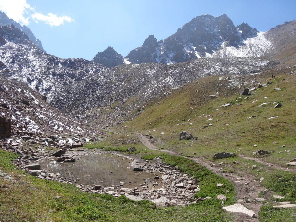 Tian-Shan Mountains, Almaty, Kazakhstan