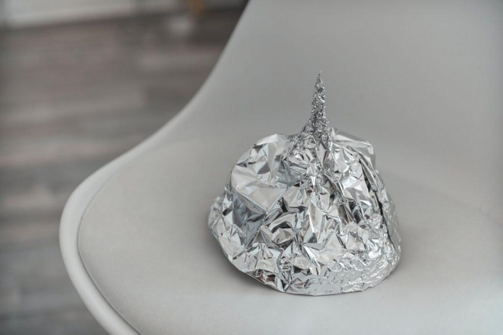 Tinfoil Hat by Tom Radetzki