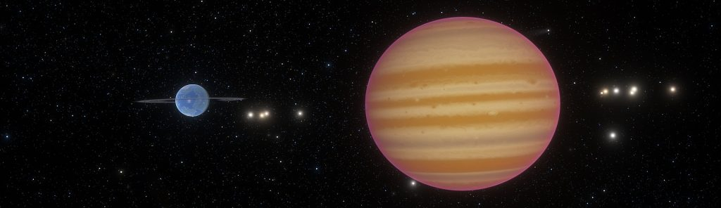 Ahari planetary system