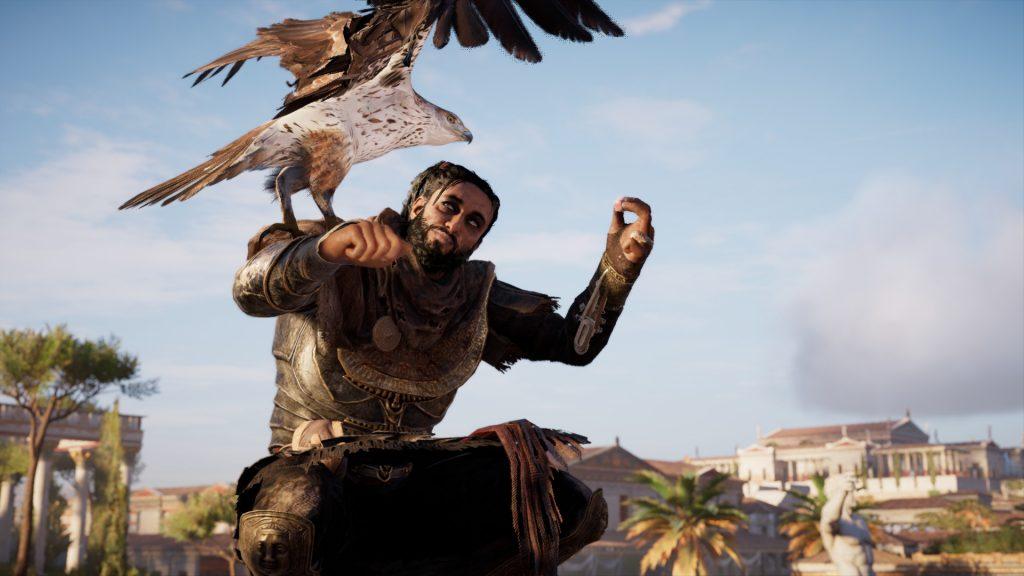 Assassin's Creed Origins. Main character, Bayek of Siwa.
